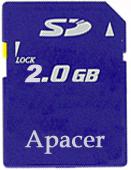 Trans Flash MicroSD карта 2GB Apacer