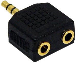 Переходник для наушников с 2 входами на 3.5 мм для ZTE V9S HAMA H-43400
