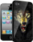 Накладка на заднюю часть 3D для Apple iPhone 4S BB-mobile X377