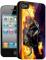 Накладка на заднюю часть 3D для Apple iPhone 4S BB-mobile X387
