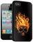 Накладка на заднюю часть 3D для Apple iPhone 4S BB-mobile X409