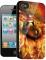 Накладка на заднюю часть 3D для Apple iPhone 4S BB-mobile X419