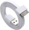 USB дата-кабель для Apple iPhone 4 Clever Flat Connect