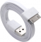 USB дата-кабель для Apple iPhone 4S Clever Flat Connect